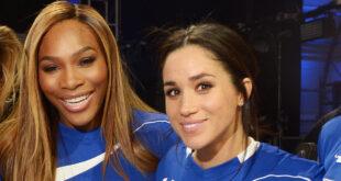 Meghan and Serena Williams