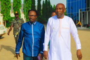 Primate Ayodele and Prophet Joshua Iginla