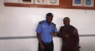 CP Ogun with NAOSRE President