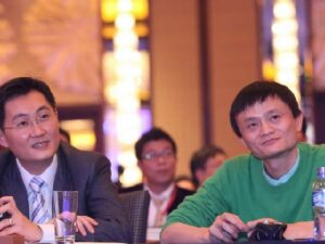 Ma Huateng & Jack Ma